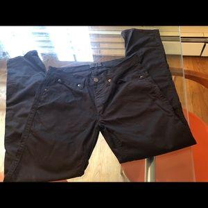 Acne Studio Max Satin Black Jeans